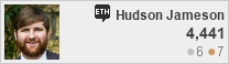 profile for Hudson Jameson at Ethereum Meta Stack Exchange, Q&A about the site for users of Ethereum, the crypto value and blockchain-based consensus network